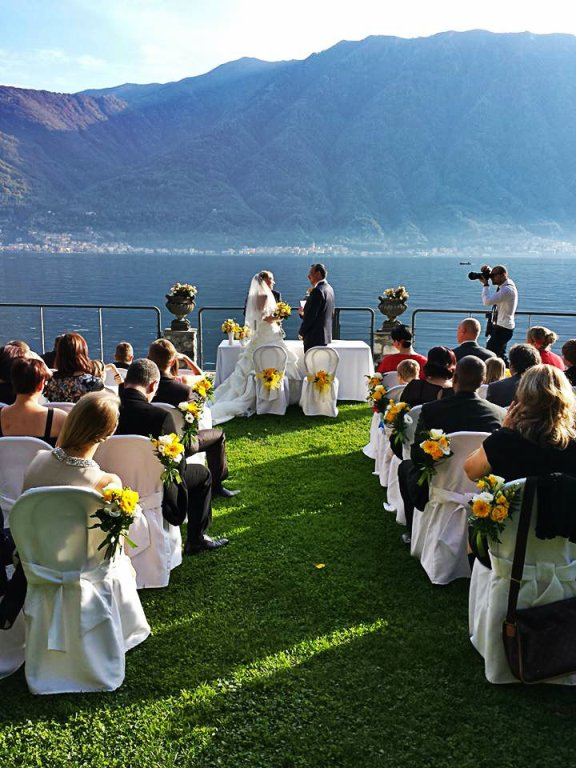 Lake Como wedding villa