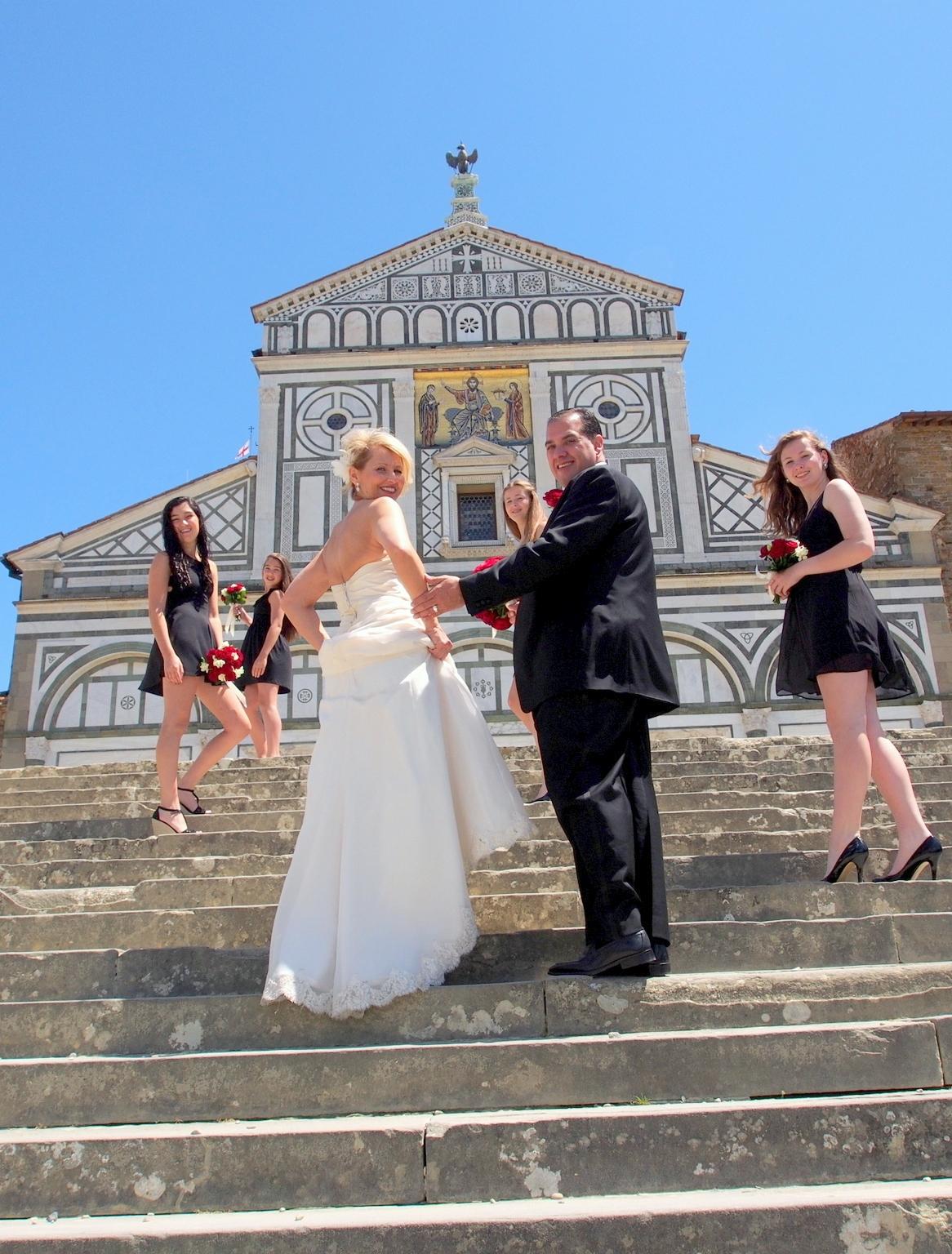 florence religious wedding