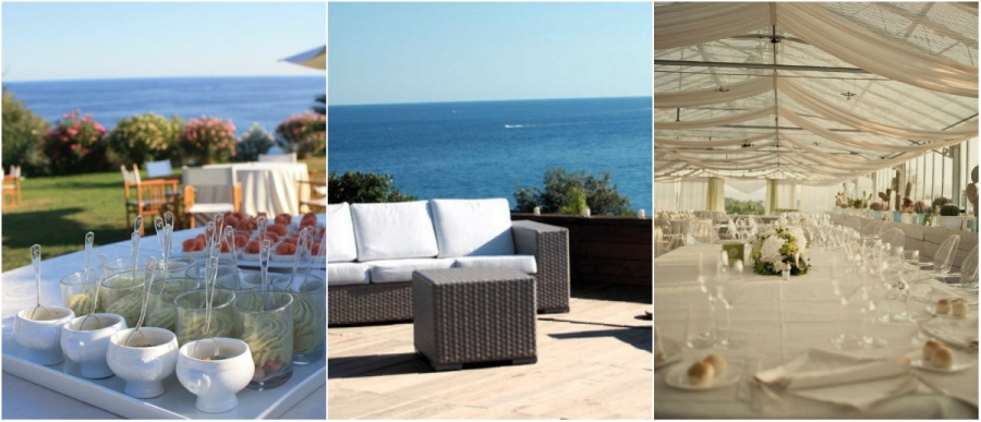 sea view villa and garden italian riviera