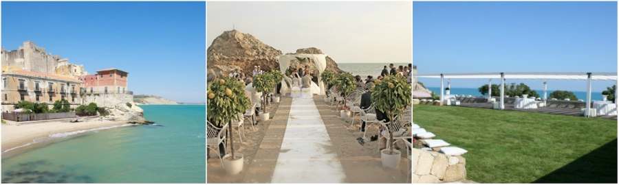 Castello Sul Mare Seaside Castle Beach Wedding Italy