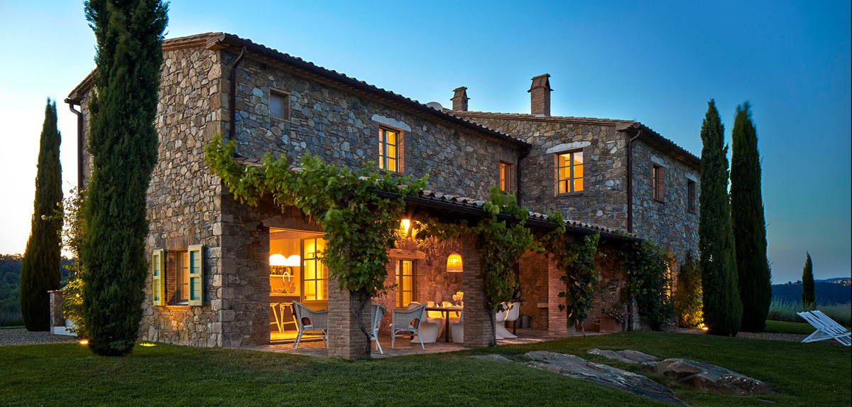Tuscany Farmhouse wedding venue