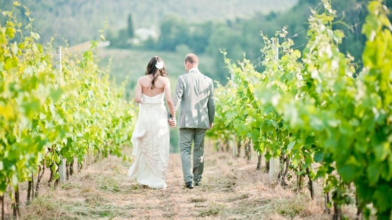 tuscany vineyard wedding