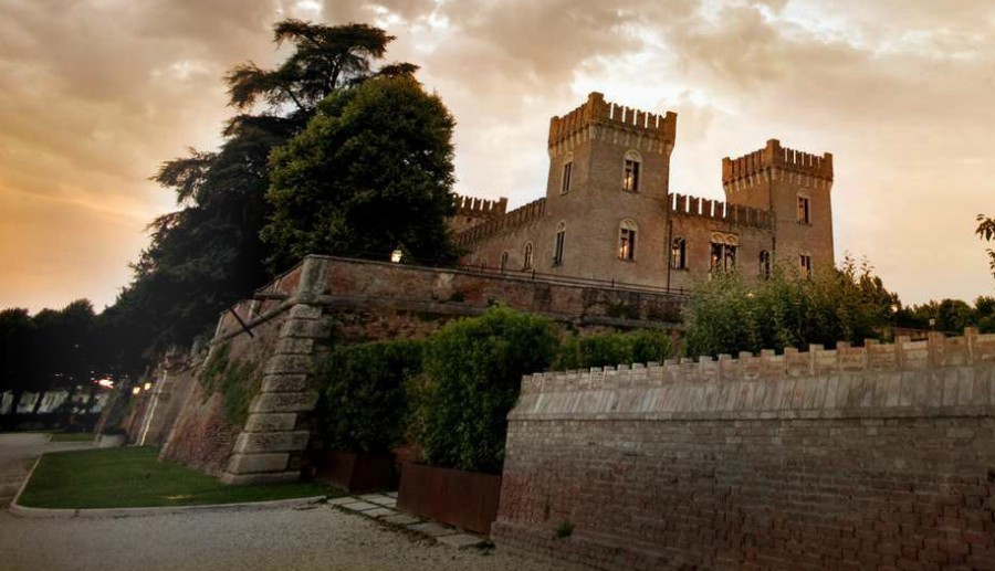 castle wedding italy
