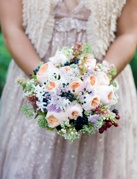 Italian wedding - Summer bridal bouquet