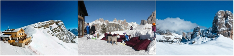 alpine hut wedding italy