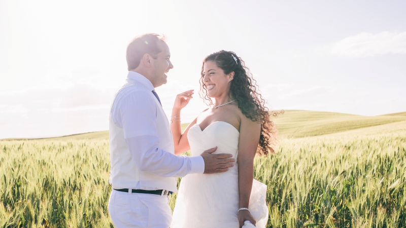 Italy outdoor wedding