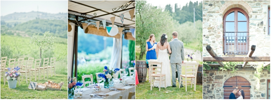 farmhouse tuscany wedding